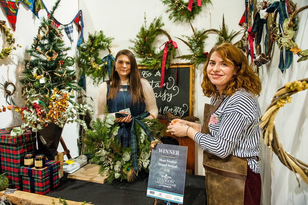 23rd November 2019 : Country Living Christmas Fair at the SEC, Glasgow. Handmade products, fine foods, cooking demonstrations, craft classes & Christmas decorations are abundant. Sponsored by Taste of Orkney, Truckle Cheese, Viking Cruises and STOVES. (Pic by Cate Gillon, Tel: 07894664288, email; info@categillon.com)