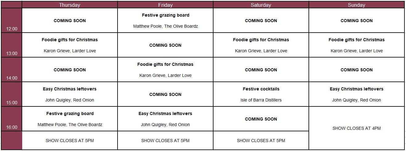 glasgow timetable corrected 2